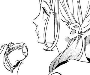 girl, manga, and manga cap image