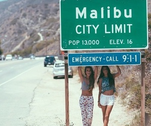 malibu, girl, and summer image