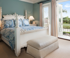 bed, decor, and florida image