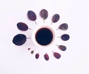 art, brown, and coffee image