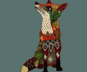 art, fox art, and fox image