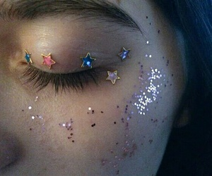 girl, alternativo, and stars image