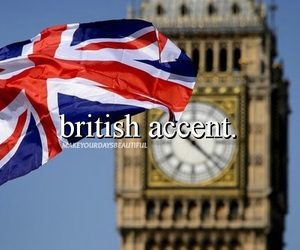 british, london, and accent image