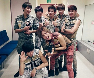 infinite, woohyun, and dongwoo image
