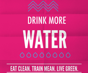 fitness, healthy, and water image
