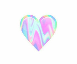 heart, hologram, and cute image