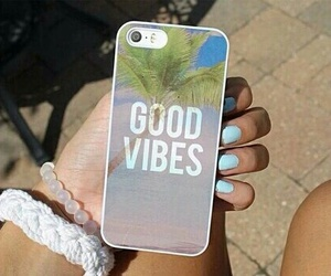case, iphone, and good vibes image