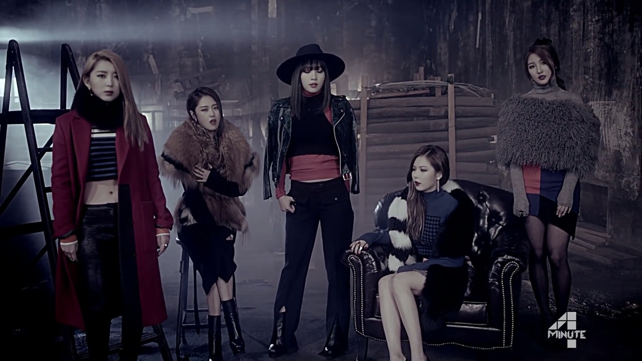 4minute, sohyun, and 포미닛 image
