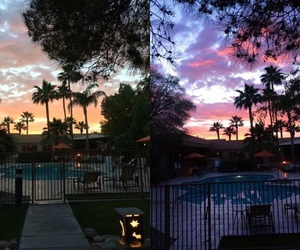 evening, pool, and lifestyle image