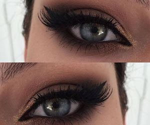 eye, eyes, and make up image
