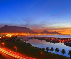 cape town, beautiful, and table mountain image
