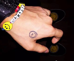 gd, gdragon, and tattoo image