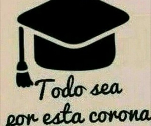 corona and graduacion image