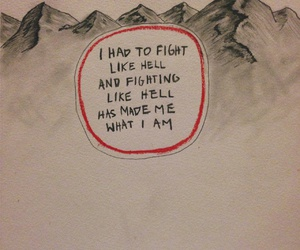 quotes, fight, and hell image