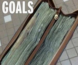 goals, money, and life image