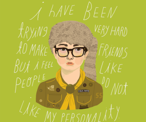 moonrise kingdom and art image