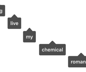 my chemical romance, tags, and tumblr image