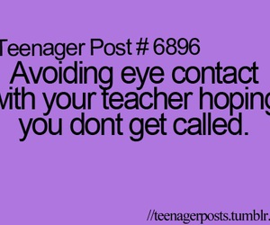 school, teenager post, and funny image
