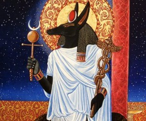 anubis, egyptian, and greek image