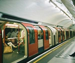 photography, tube, and underground image