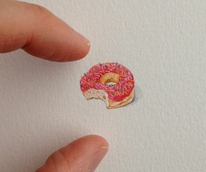 finger, food, and pink image