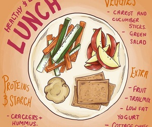 lunch, food, and healthy image