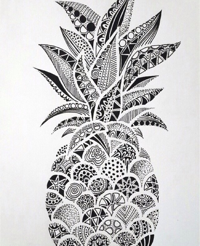 29 images about pineapples on we heart it see more about wallpaper