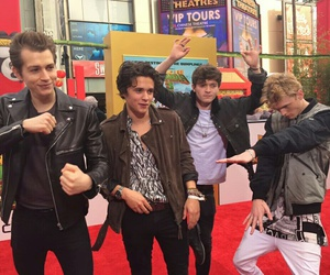 tristan evans, the vamps, and connor ball image