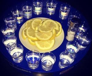 alcohol and lemon image