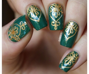 decorations, nails, and draw image