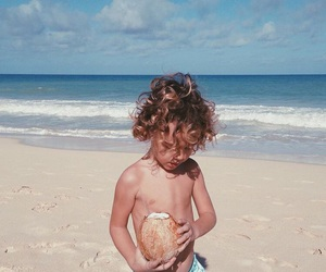 beach, blonde, and boy image