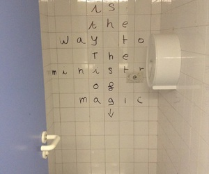 funny, toilet, and wand image