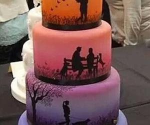 cake, love, and food image