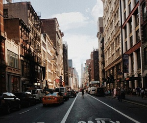 city, street, and tumblr image