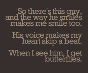 love, quote, and butterfly image