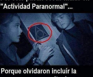 harry potter and actividad paranormal image