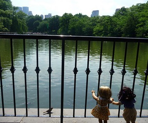 Central Park, dolls, and new york image
