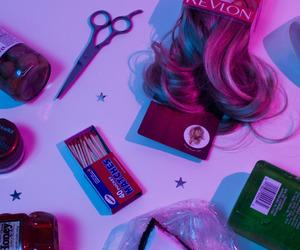 purple, pink, and grunge image