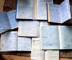 book, writing, and diary image