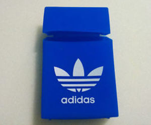blue and adidas image