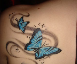 beautiful, tattoo, and pictures image