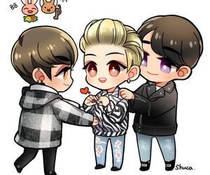fan art, Jonghyun, and SHINee image