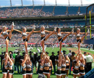 group and cheerleading image