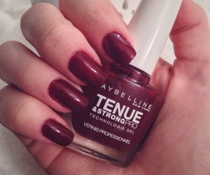 beauty, burgundy, and classy image