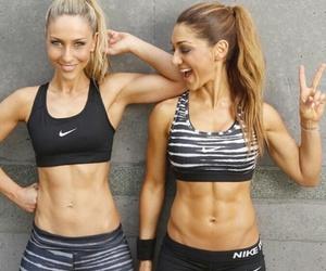 fitness, girl, and nike image