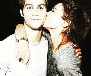 teen wolf, dylan o'brien, and crystal reed image