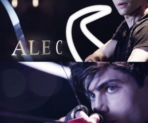 jace wayland, clary fray, and alec image