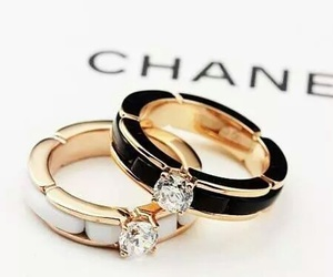 chanel, rings, and gold image