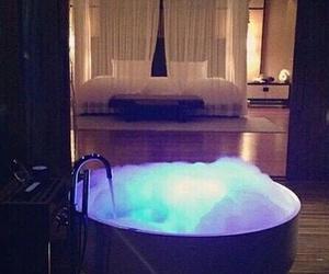 luxury, bath, and bedroom image