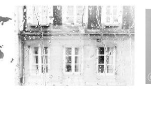 black, grey, and header image